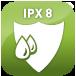 Résistant à l'eau (IPX8)